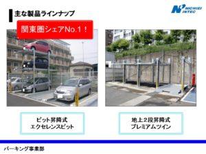 立体駐車場 製品ラインナップ