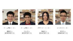 新人社員の写真
