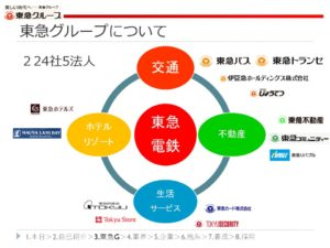 東急グループの事業領域