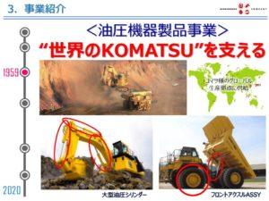 関ケ原製作所の事業 油圧機器製品事業