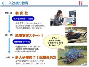 関ケ原製作所 教育