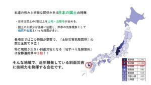日本の国土の特徴